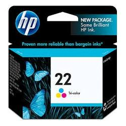 Tinta HP 22 Tricolor Original