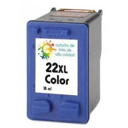 Cartucho de tinta HP 22XL Tricolor Premium