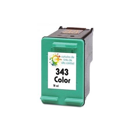 Cartucho de tinta HP 343 Tricolor Premium