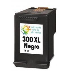 Cartucho de tinta HP 300XL Negro Premium