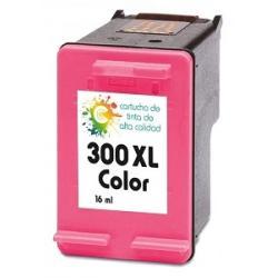 Cartucho de tinta HP 300XL Tricolor Premium