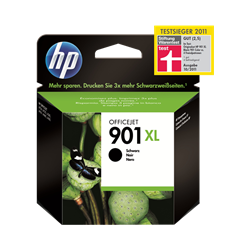 Cartucho de tinta HP 901XL Negro Original