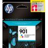 Cartucho de tinta HP 901 Tricolor Original