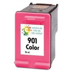 Cartucho de tinta HP 901XL Tricolor Premium