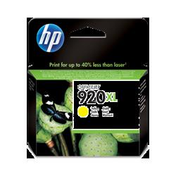 Cartucho de tinta HP 920XL Amarillo original