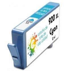 Cartucho de tinta HP 920XL Cyan Premium