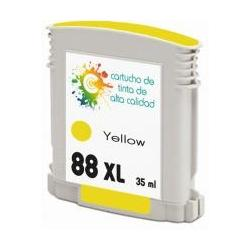 Cartucho de tinta HP 88XL Amarillo Premium