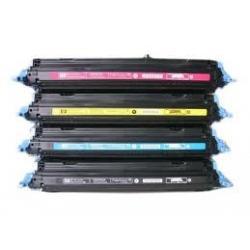Tóner HP Q6000/1/2/3A Pack 4 colores Compatible