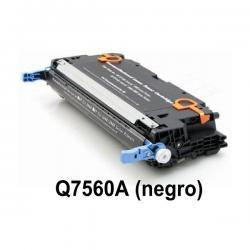 Tóner HP Q7560A Negro Compatible