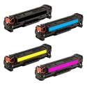 Tóner HP CF380X/1/2/3A Pack 4 colores Compatible