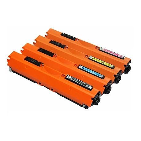 Tóner HP CF350/1/2/3A Pack 4 colores Compatible