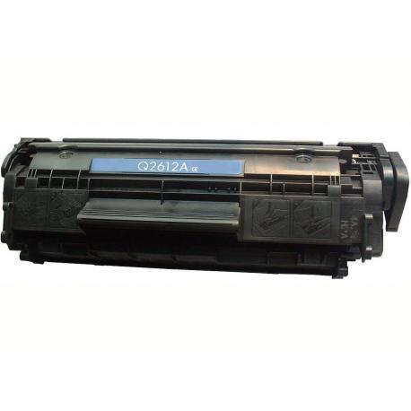 Tóner HP Q2612A Negro Compatible