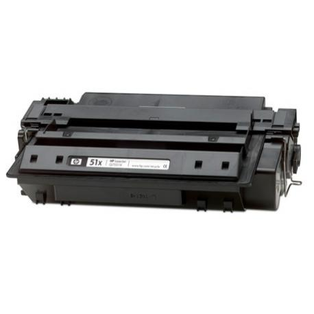 Tóner HP Q7551X Negro Compatible