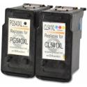 Multipack de tinta compatible Canon PG-540XL/CL-541XL