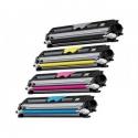 Tóner OKI C110 Pack 4 colores Compatible
