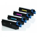 Tóner OKI C3100/5100 Pack 4 colores Compatible