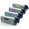 Tóner OKI C5600/5700 Pack 4 colores Compatible