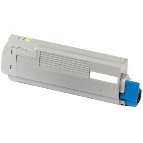 Tóner OKI C5650/5750 Amarillo Compatible