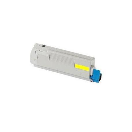 Tóner OKI C5850/5750 Amarillo Compatible