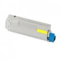 Tóner OKI C5850/5950 Amarillo Compatible