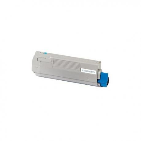 Tóner OKI C5850/5750 Cyan Compatible