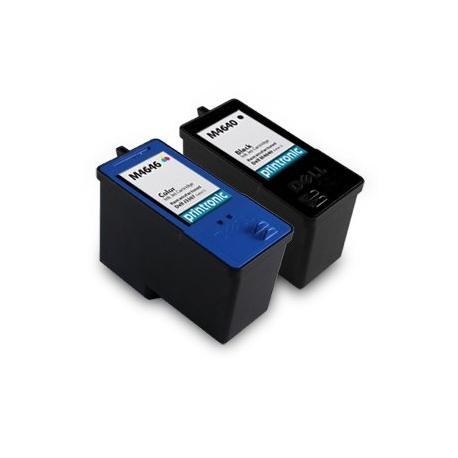 Cartucho de tinta compatible Dell M4646