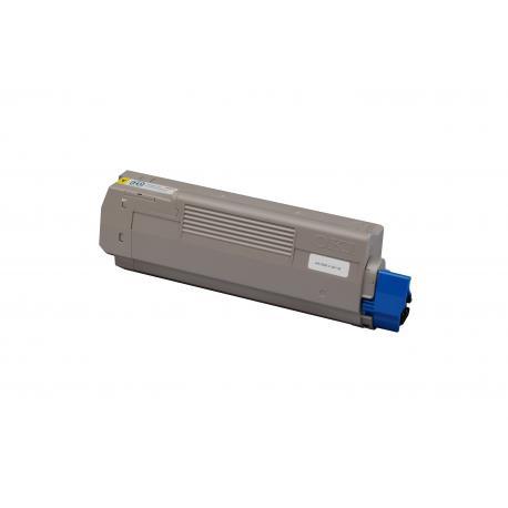 Tóner OKI C610 Amarillo Compatible