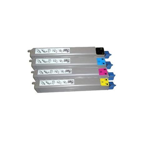 Tóner OKI C910 Pack 4 colores Compatible