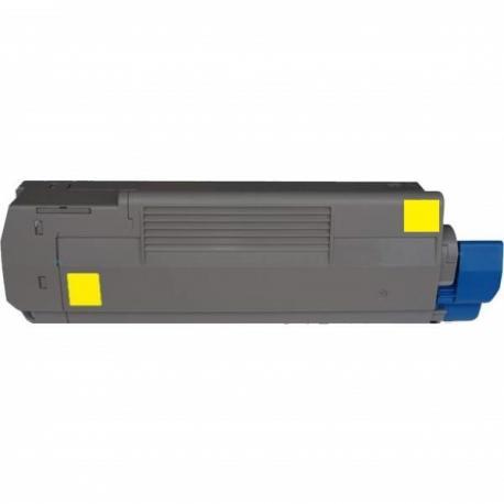 Tóner OKI C9100 / C9200/ C9300 / C9400 / C9500 Amarillo Compatible