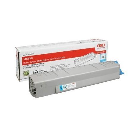 Tóner OKI MC860 Cían Compatible