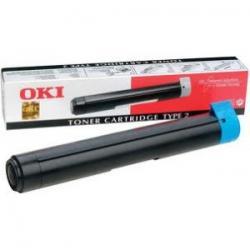 Tóner OKI Type 2 Negro Compatible