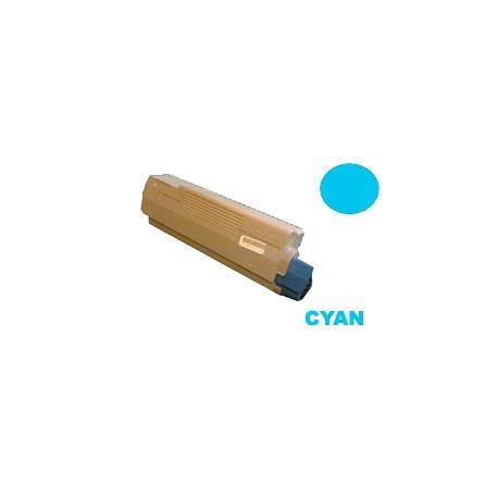 Tóner OKI ES2232A4 / ES2632A4 / ES5460 Cían Compatible