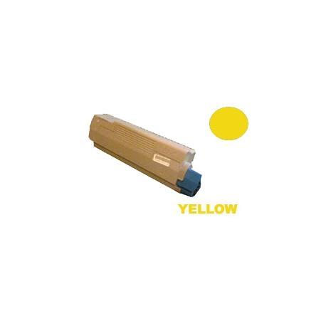 Tóner OKI ES2232A4 / ES2632A4 / ES5460 Amarillo Compatible