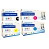 Tóner OKI ES2232A4 / ES2632A4 / ES5460 Pack 4 colores Premium