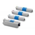 Tóner OKI ES3451 / ES5430 / ES5461 Pack 4 colores Compatible