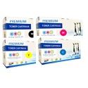 Tóner OKI ES3451 / ES5430 / ES5461 Pack 4 colores Premium