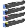 Tóner OKI ES3640E Pack 4 colores Compatible