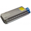 Tóner OKI ES7411 / ES3032A4 Amarillo Compatible