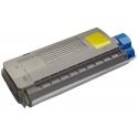Tóner OKI ES2426 / ES2024 Amarillo Compatible