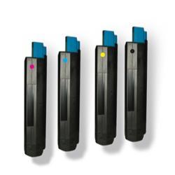 Tóner OKI ES1624 / ES1624 MFP Pack 4 colores Compatible