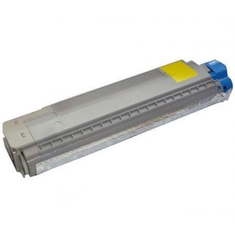 Tóner OKI ES2632A3 Amarillo Compatible