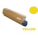Tóner OKI ES7470 MFP / ES7480 MFP Amarillo alternativo