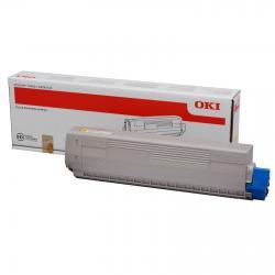 Tóner OKI C831 / C831n / C831dn / C831cdtn / C841 / C841n / C841dn / C841cdtn Amarillo Compatible