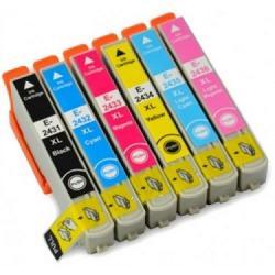 Tinta EPSON 24XL Multipack 6 tintas Compatible