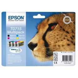 Cartucho de tinta EPSON T0715 Multipack 4 tintas Original