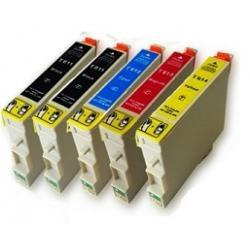 Cartucho de tinta EPSON T0615 Multipack 5 tintas Compatible