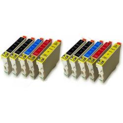 Cartucho de tinta EPSON T0615 Multipack 10 tintas Compatible