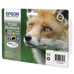Cartucho de tinta EPSON T1285 Multipack 4 tintas Original