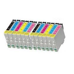 Cartucho de tinta EPSON T0487 Multipack 12 tintas Compatible