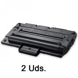 Tóner Samsung ML-1910 / ML-1915 / SCX-4623 Negro Pack 2 Uds. Compatible